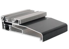 low aluminium threshold with cill