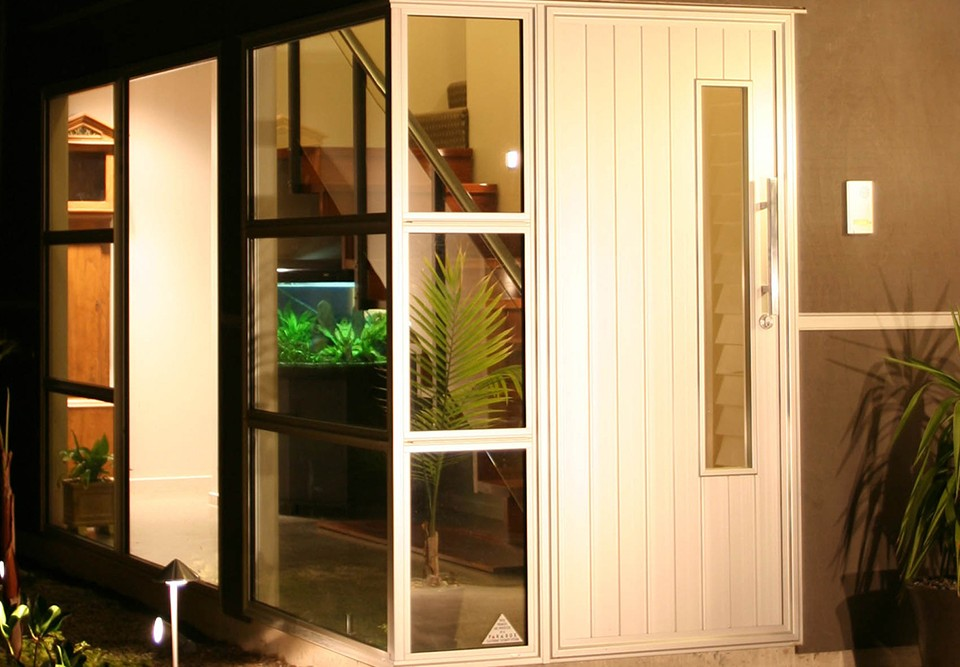 domestic aluminium door