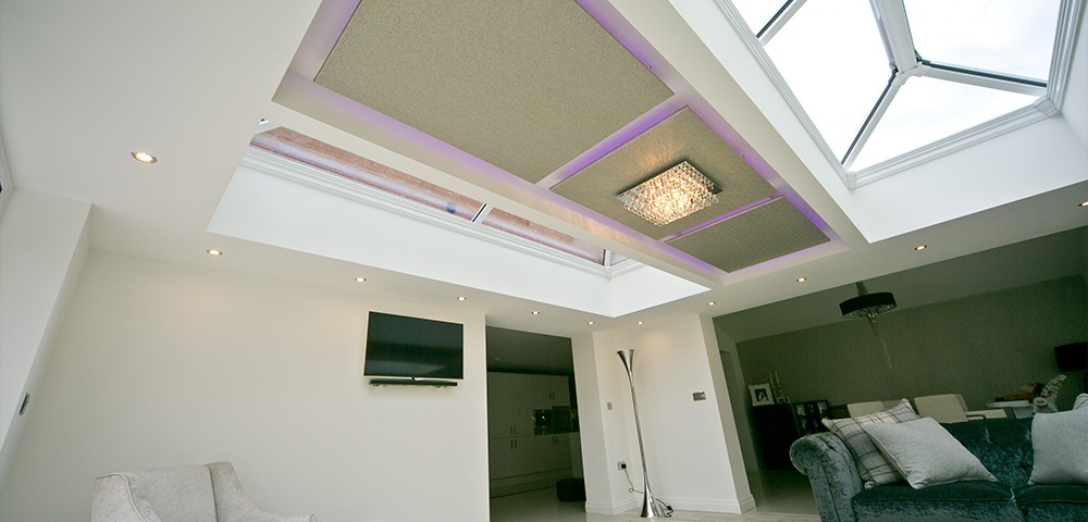 roof lantern in a living space