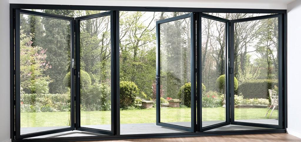 10 reasons to choose a bi fold door midland bi for Aluminium folding doors