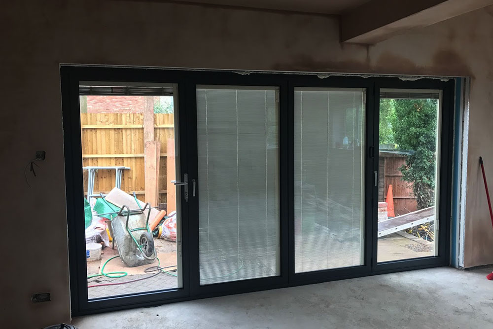 Integral Blinds ed in Bi-Folding Door Units -Midland Bi-folds on