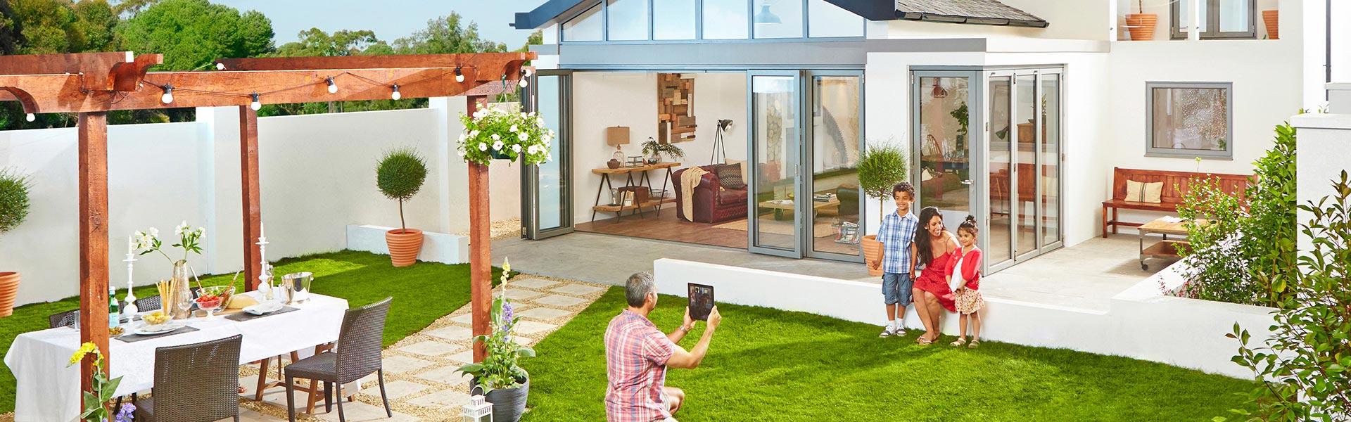 conservatory bi-fold door