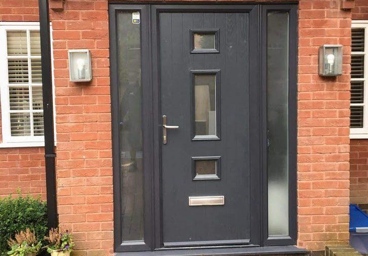 Front Door and Sidelights
